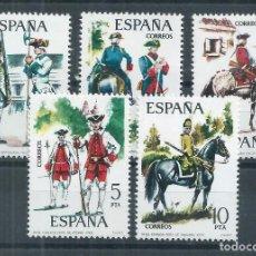 Sellos: R16/ ESPAÑA EDIFIL 2236/40, MNH **, 1975. Lote 100377743