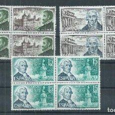 Sellos: R16.V_23/ ESPAÑA EDIFIL 2117/19, MNH **, 1973, CATALOGO 11,16€, EN BLOQUES DE 4. Lote 100434587