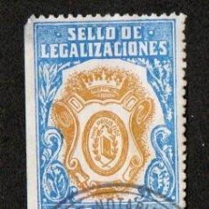 Sellos: SELLO DE LEGALIZACIONES 25 PTAS. Lote 101028559