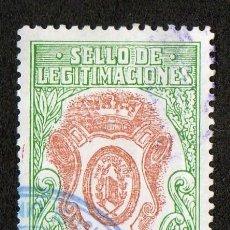 Sellos: SELLO DE LEGITIMACIONES 25 PESETAS. Lote 101028747