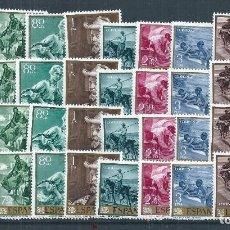 Sellos: R22.CARP_01/ ESPAÑA EDIFIL 1566/75 X4, MNH **, 1964, JOAQUIN SOROLLA, CATALOGO 18,00€. Lote 101422187