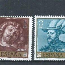 Sellos: R22/ ESPAÑA EDIFIL 1434/37, MNH **, 1962, RU-BENS, CATALOGO 19,25€. Lote 105967554