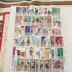 Sellos: SELLOS ESPAÑA AÑO COMPLETO 1975, NUEVO SIN FIJASELLOS, INCLUYE HOJAS BLOQUE. Lote 116777848