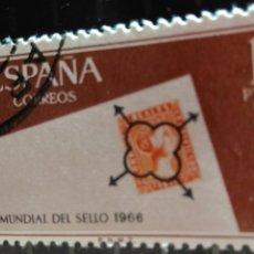 Sellos: USADO. AÑO 1966. EDIFIL 1724. DIA MUNDIAL DEL SELLO.. Lote 103917579