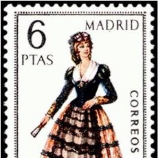 Sellos: ESPAÑA 1969 - TRAJES TIPICOS REGIONALES - MADRID - EDIFIL Nº 1904** . Lote 104303039