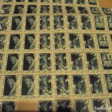 Sellos: LOTE DE 94 SELLOS PRO- TEMPLO NTRO SEÑOR JESUS DEL GRAN PODER 1965 EN UN PLIEGO DE 100. Lote 104889935