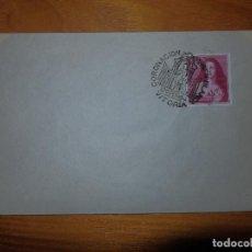Sellos: SOBRE S.F.C - EDIFIL 1129 - III CENTENARIO DE RIVERA - 1,25 PTAS - MATASELLOS ESPECIAL - 17-10-1954. Lote 105863339
