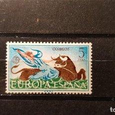Sellos: SELLO NUEVO ESPAÑA 1966. EUROPA. EL RAPTO DE EUROPA. 26 DE SEPTIEMBRE DE 1966. Lote 106035907
