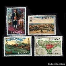 Sellos: 1972. EDIFIL 2107/10. HISPANIDAD PUERTO RICO. NUEVO** MNH. Lote 106318971