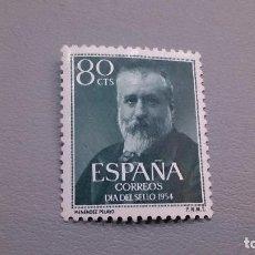 Sellos: 1954 - EDIFIL 1142 - MH* - NUEVO - MARCELINO MENENDEZ Y PELAYO.. Lote 106595515