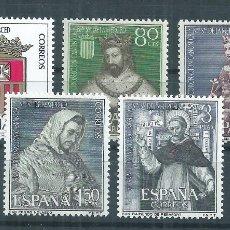 Sellos: R30/ ESPAÑA NUEVOS ** , 1963, EDF. 1521/25, NUESTRA SEÑORA DE LA MERCED. Lote 111943182