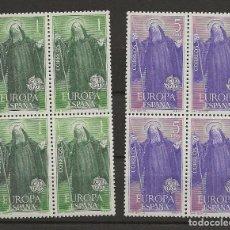Sellos: R30.V_23/ EDIFIL 1675/76, MNH**, 1965, EUROPA CEPT. Lote 111944602