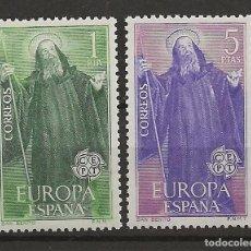 Sellos: R30.V_23/ EDIFIL 1675/76, MNH **, 1965, EUROPA CEPT. Lote 111944532