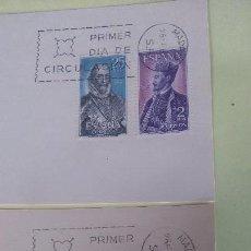 Sellos: ESPAÑA 1966, N 1705/08 CON MATASELLOS PRIMER DIA. Lote 109526035