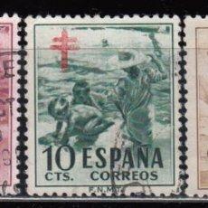 Sellos: ESPAÑA , 1951 EDIFIL Nº 1103 / 1105 . Lote 110667971