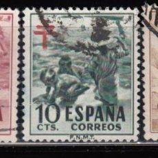 Sellos: ESPAÑA , 1951 EDIFIL Nº 1103 / 1105 . Lote 110668759