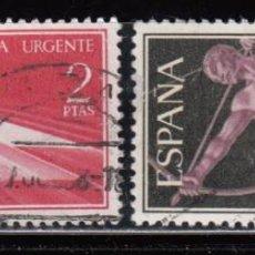 Sellos: ESPAÑA , 1956 EDIFIL Nº 1185 / 1186 . Lote 110706955