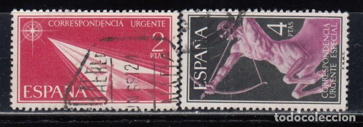 ESPAÑA , 1956 EDIFIL Nº 1185 / 1186 (Sellos - España - II Centenario De 1.950 a 1.975 - Usados)
