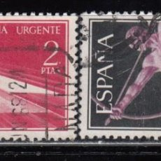 Sellos: ESPAÑA , 1956 EDIFIL Nº 1185 / 1186 . Lote 110706995