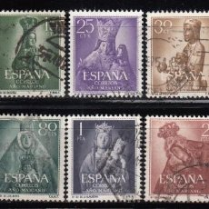 Sellos: ESPAÑA , 1955 EDIFIL Nº 1132 / 1141 . Lote 110709663