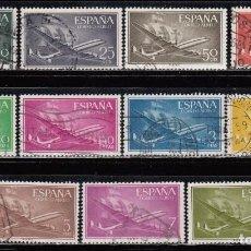 Sellos: ESPAÑA , 1955 - 1956 EDIFIL Nº 1169 / 1179 . Lote 110734883