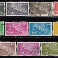 Sellos: ESPAÑA , 1955 - 1956 EDIFIL Nº 1169 / 1179 . Lote 110734971