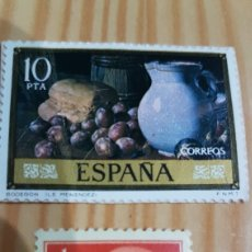 Sellos: LOTE SELLOS CORREOS 1 PESETA FRANCO Y 10 PESETAS SIN USAR. Lote 112545466
