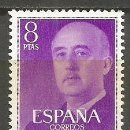 Sellos: ESPAÑA 1955 SELLO GENERAL FRANCO EDIFIL NUM. 1162 ** NUEVO SIN FIJASELLOS. Lote 161142666