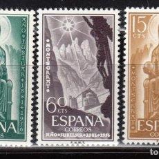 Sellos: ESPAÑA , 1956 EDIFIL Nº 1192 / 1194 / ** /. Lote 113423251