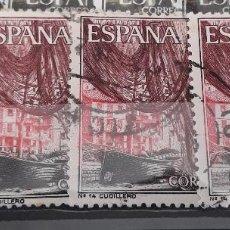 Sellos: TURISMO, CUDILLERO. EDIFIL 1648 X4. Lote 128042486