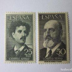 Sellos: EDIFIL 1164-1165. FORTUNY Y T. QUEVEDO. NUEVOS **. Lote 114997443