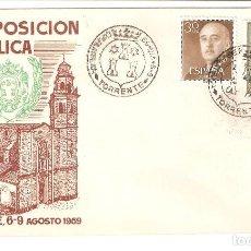 Sellos: III EXPOSICION TORRENTE 1959. Lote 116218131