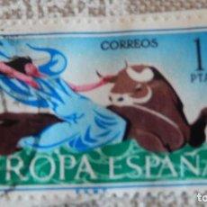 Sellos: SELLO - ESPAÑA - CORREOS - EUROPA - 1 PTA. Lote 116940799