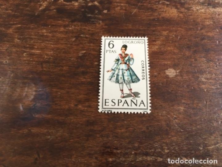 EDIFIL 1902 - TRAJES REGIONALES LOGROÑO (Sellos - España - II Centenario De 1.950 a 1.975 - Nuevos)
