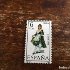 Sellos: EDIFIL 1901 - TRAJES REGIONALES LÉRIDA . Lote 117450635