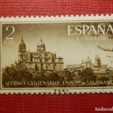 Sellos: SELLO - ESPAÑA - CORREOS - CENT UNIVERSIDAD DE SALAMANCA - EDIFIL 1128 - 1953 - 2 PTAS -SIN CHARNELA. Lote 117996671