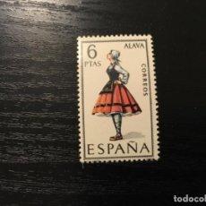 Sellos: EDIFIL 1767 - TRAJES REGIONALES ÁLAVA. Lote 118111563
