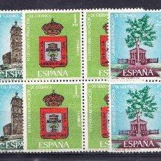 Sellos: 1966 EDIFIL 1720/22** NUEVOS SIN CHARNELA. BLOQUE CUATRO. FUNDACION GUERNICA. Lote 118137695