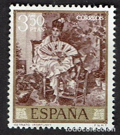 MARIANO FORTUNY MARSAL. AÑO 1968. EDIFIL 1861. ÓXIDO. (4) (Sellos - España - II Centenario De 1.950 a 1.975 - Nuevos)