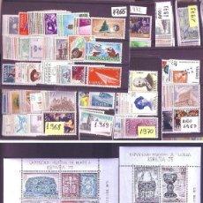 Sellos: ESPAÑA AÑOS 1965 A 1975 - COLECCION COMPLETA DEL CENTENARIO DEL SELLO DENTADO - 609 SELLOS NUEVOS. Lote 118611815