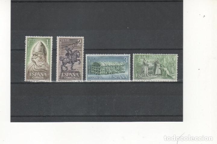 ESPAÑA-1444/47 RODRIGO DIAZ DE VIVAR-EL CID NUEVO SIN FIJASELLOS (SEGÚN FOTO ) (Sellos - España - II Centenario De 1.950 a 1.975 - Nuevos)