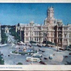 Sellos: CARTA POSTAL, PALACIO DE COMUNICACIONES. EDIFIL 1053 Y 1122. 1954.. Lote 121585271