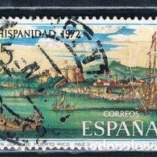 Sellos: ESPAÑA 1972 SELLO USADO EDIFIL 2109. Lote 121910535