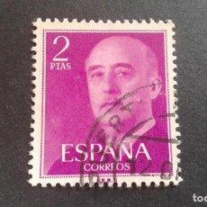 Sellos: ESPAÑA,1955-1956,GENERAL FRANCO,EDIFIL 1158,USADO,(LOTE AR). Lote 122087063