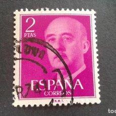 Sellos: ESPAÑA,1955-1956,GENERAL FRANCO,EDIFIL 1158,USADO,(LOTE AR). Lote 122087279