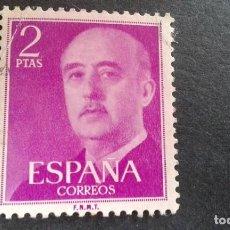 Sellos: ESPAÑA,1955-1956,GENERAL FRANCO,EDIFIL 1158,USADO,(LOTE AR). Lote 122087387