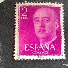 Sellos: ESPAÑA,1955-1956,GENERAL FRANCO,EDIFIL 1158,USADO,(LOTE AR). Lote 122087795