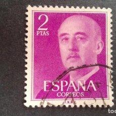 Sellos: ESPAÑA,1955-1956,GENERAL FRANCO,EDIFIL 1158,USADO,(LOTE AR). Lote 122088843