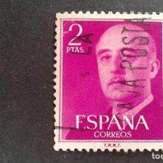 Sellos: ESPAÑA,1955-1956,GENERAL FRANCO,EDIFIL 1158,USADO,(LOTE AR). Lote 122088987