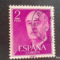 Sellos: ESPAÑA,1955-1956,GENERAL FRANCO,EDIFIL 1158,MATASELLO DE BILBAO,(LOTE AR). Lote 122089671